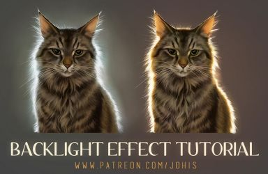Backlight Tutorial on Patreon by Lhuin