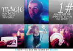 Now You See Me Icons by Blowthat