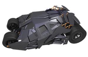 Batmobile -the Tumbler- Cam view 5 by JDVN7