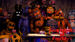 (SFM)Five Nights at Freddy's 2 by SpringBonnieNotTrap