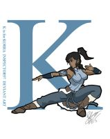 K is for Korra by Inspector97