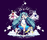 Magic Vocaloid by LynIllust