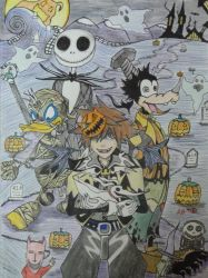 Kingdom Hearts by Wolfofshiver