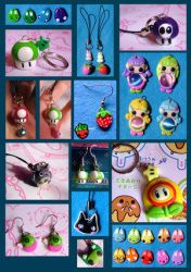 lastest creations - super-ania by Cute-Craft