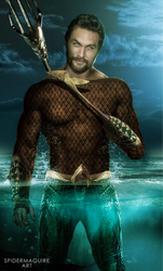 Classic Aquaman  by Spider-maguire