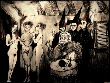Novices To the Coven, Early 1920s by JOHNNYFB