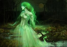 Lonely ghost by Folda