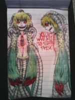Undertale Human Omega Flowey by SociopathicAbyss