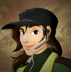 The Young Soldier's Portrait (Before) by Nylten