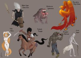 Magical creatures 2 by DuszanB