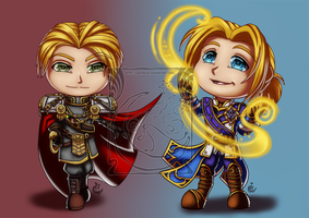 CM - Valerian and Anduin by LadyRosse