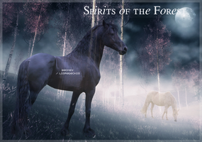Spirits of the Forest by LosRebeckos