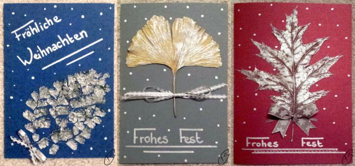 Christmas cards by Schunki