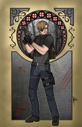 Leon S. Kennedy by MaddieLea