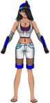 OC Lora Trigger full view by Leon-The-Skull-King