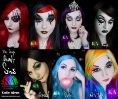The Seven Deadly Sins - Full Collection by KatieAlves