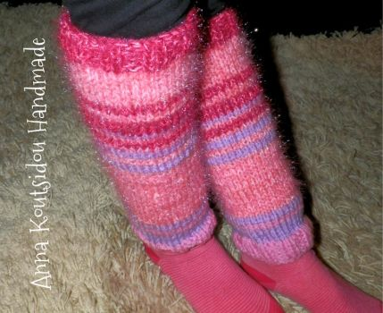 Knitted Leg Warmers by annakoutsidou