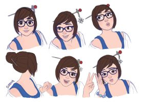 Mei Studies by Sleevia