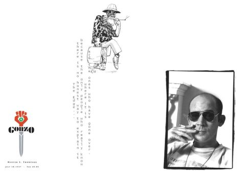 Hunter S. Thompson by MilaPatricia