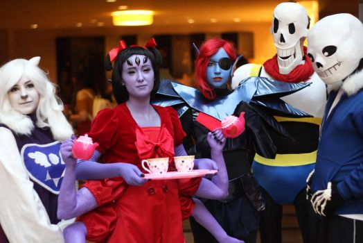 Undertale at A-Kon by Tailstastic