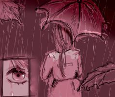 SDJ Terrible Rain by manorainfection