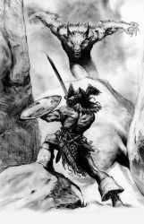 Conan sketch by LiamSharp