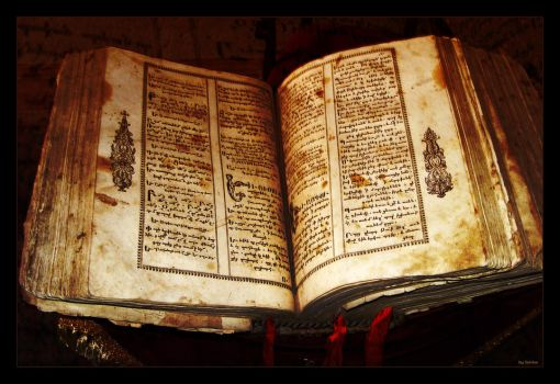 Old Armenian Book by deviantik