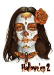 Day of the Dead Metal Chase Card Art - Sean Pence by Pernastudios