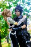 Lunafreya and Noctis by Dropchocolate