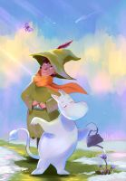 It's Spring, Moomintroll! by Mellodee