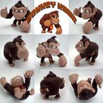 Super Smash Bros Donkey Kong Sculpture