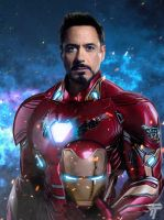 Iron Man Infinity War by Timetravel6000v2