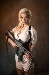Armed and Gorgeous by vpotemkin