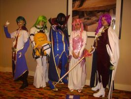 Code Geass Group of EPIC by Cid-the-Stampede