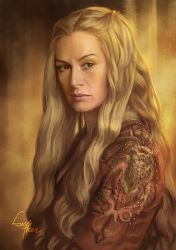 Cersei Lannister by blackwings736
