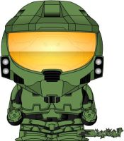 Master Chief by bizklimkit