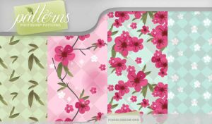 Patterns - Pink Blossom by So-ghislaine