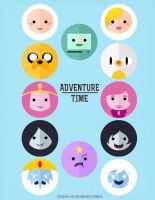 It's Adventure Time by SteveHoltisCool