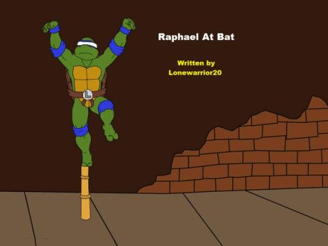 Raphael At Bat Title Page by lonewarrior20