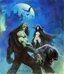 CREATURES OF THE NIGHT 2 by AlexHorley