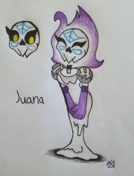 ~{JUANA THE CANDY SKULLED GHOST}~ by gamewitt20