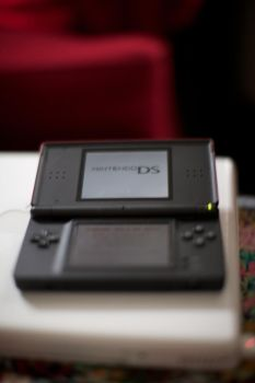 Nintendo DS Lite and MacBook by teamsjk