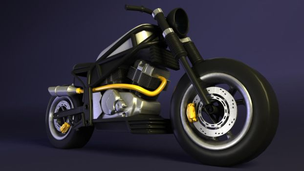 Motorcycle WIP by Marotto