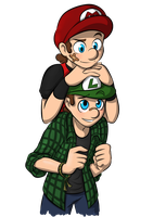 Young Bros! by Elwensa