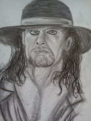 .:[DRAWING]25 YEARS UNDERTAKER:. by Maniactheleader