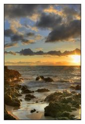 Hawaiian Sunset by andrewmcconville