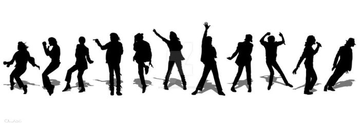 Michael Jackson Silhouettes by c-charalambous