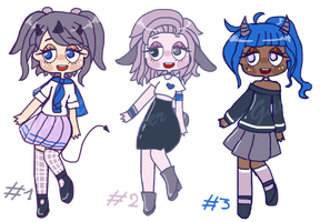 1 Palette 3 Adopts #1 (3/3 OPEN, SB 30pts) by Super-Gabou