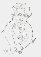 Tom Riddle by Blakravell