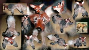 Maned Wolf Doll by Eviecats